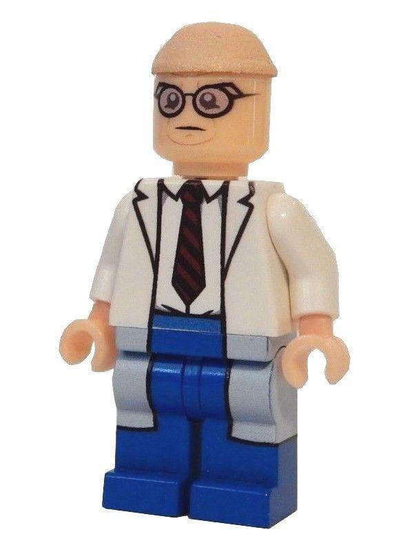 **NEW** LEGO Custom Printed HAMBURGLER McDonald/'s Restaurant Minifigure