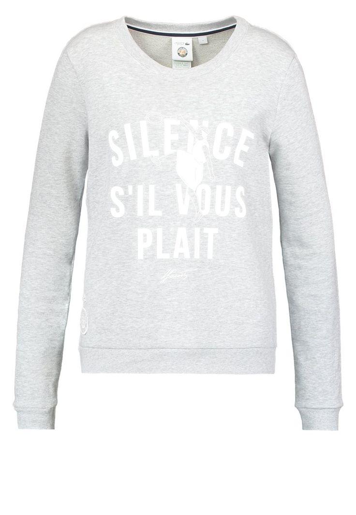 Lacoste Bluza silence silber