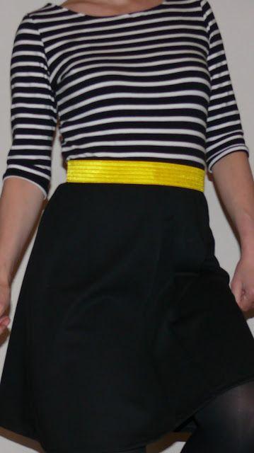 Leuk deze jurk, een combinatie van de Ariel jurk (la maison victor), Allemaal rokjes en een beetje van H&M by moredresses4me.blogspot.nl