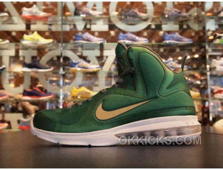 http://www.okkicks.com/online-nike-lebron-9-shoes-ids-by-nike-harajuku-dark-green-gold-white.html ONLINE NIKE LEBRON 9 SHOES IDS BY NIKE HARAJUKU DARK GREEN GOLD WHITE Only $72.48 , Free Shipping!