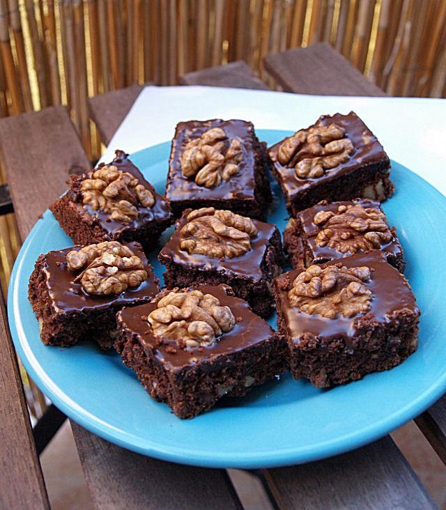 Diós brownie-szerűség