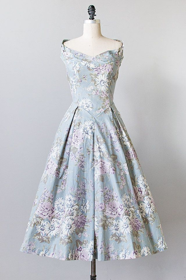 vintage 1980s Laura Ashley floral dress $128