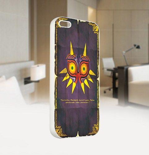 Legend of zelda majoras mask - For IPhone 4 or 4S White Case Cover