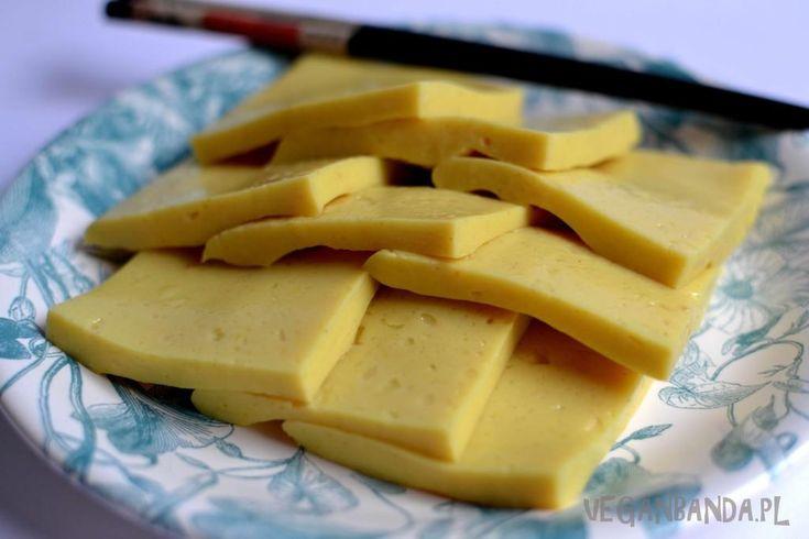 Tofu z ciecierzycy (2szkl wody na szkla ciecierzycy)