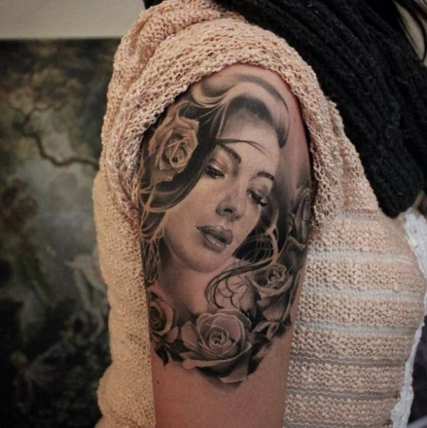 301 Best Portrait Tattoos Images On Pinterest