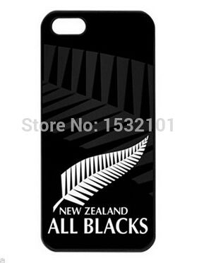 New Zealand All Blacks Rugby Team Cover Case for iPhone 4 4S 5 5S 5C 6 6 Plus Touch 5