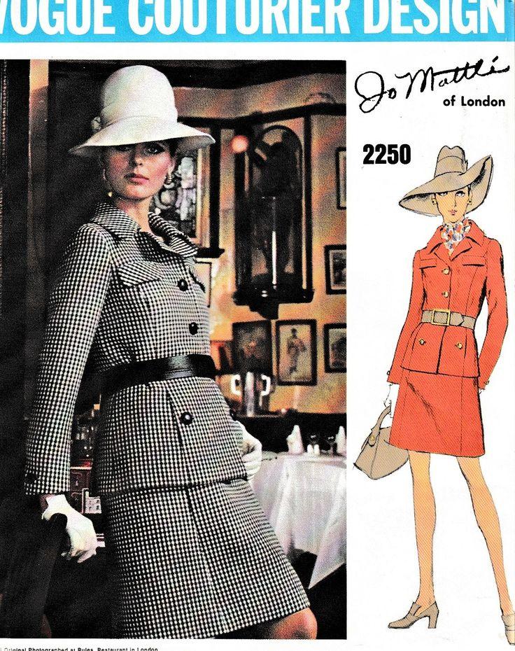 755 besten Vogue Paris/Couturier Bilder auf Pinterest | Vintage mode ...