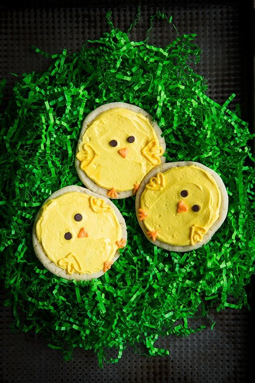 Chick Sugar Cookies - Cooking Classy
