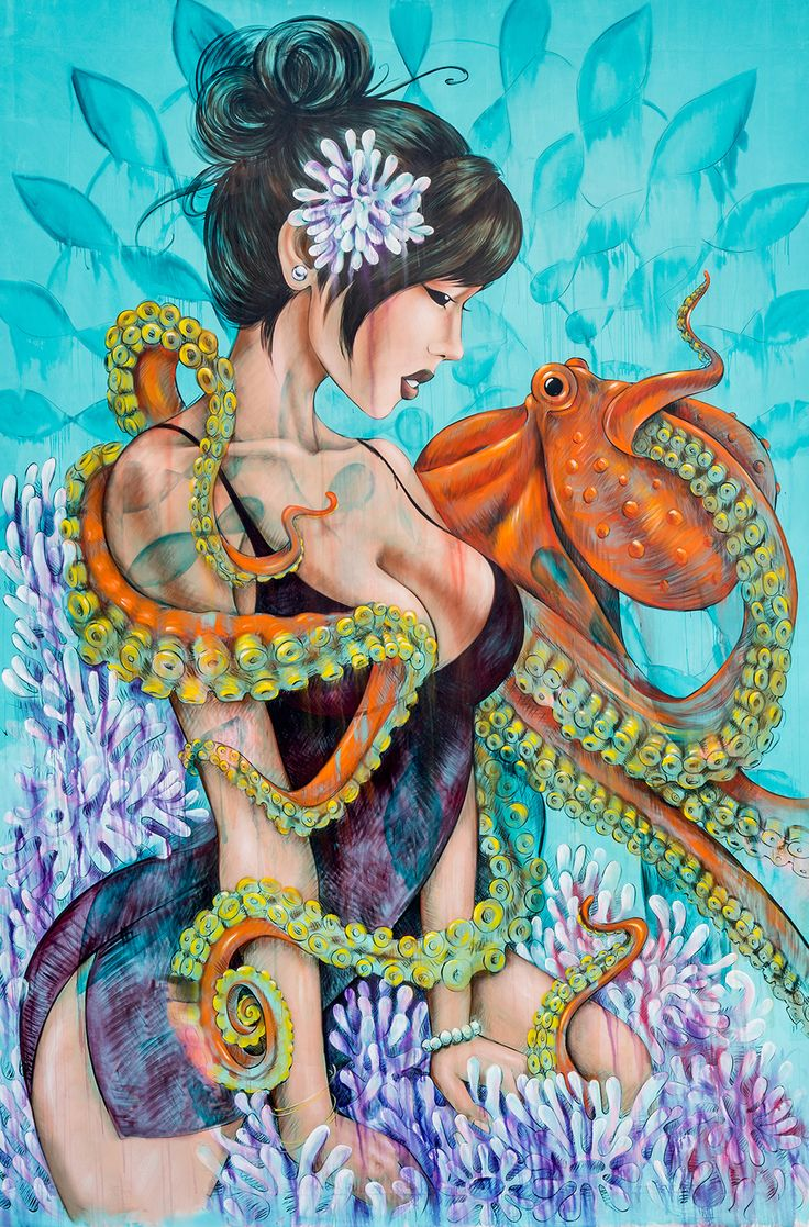 The Artwork of Amanda Lynn.Check out the artwork of San Francisco based artist Amanda Lynn. Besides these gorgeous paintings she does absolutely stunning murals which you can see on her Instagram.