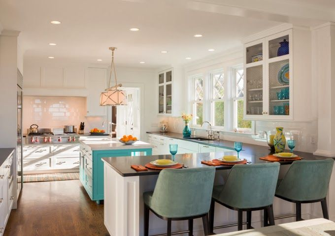 how to choose kitchen colors 138 best beautiful home turquoise images on 7208
