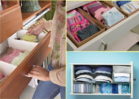 Great Tip of the week on Re-using our stuff  Reusing shoes box to organize your home 4 Reusing Shoes Box To Organize Your Home