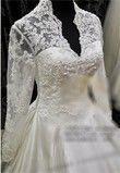 Robe de mariée style Kate Middleton incrustée de strass swarovski