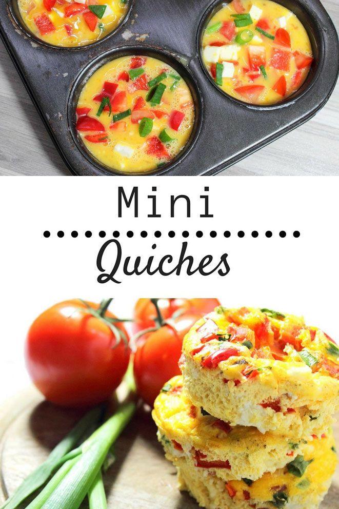 Mini Quiches - Happy Bauch