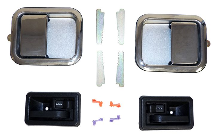 Door Handle Kit Full Set Chrome Replaces Part 5758172mk Fits Jeep Wrangler Tj 1997 2006 W Full Steel Doors Jeep Wrangl Door Handles Kit Apple Watch
