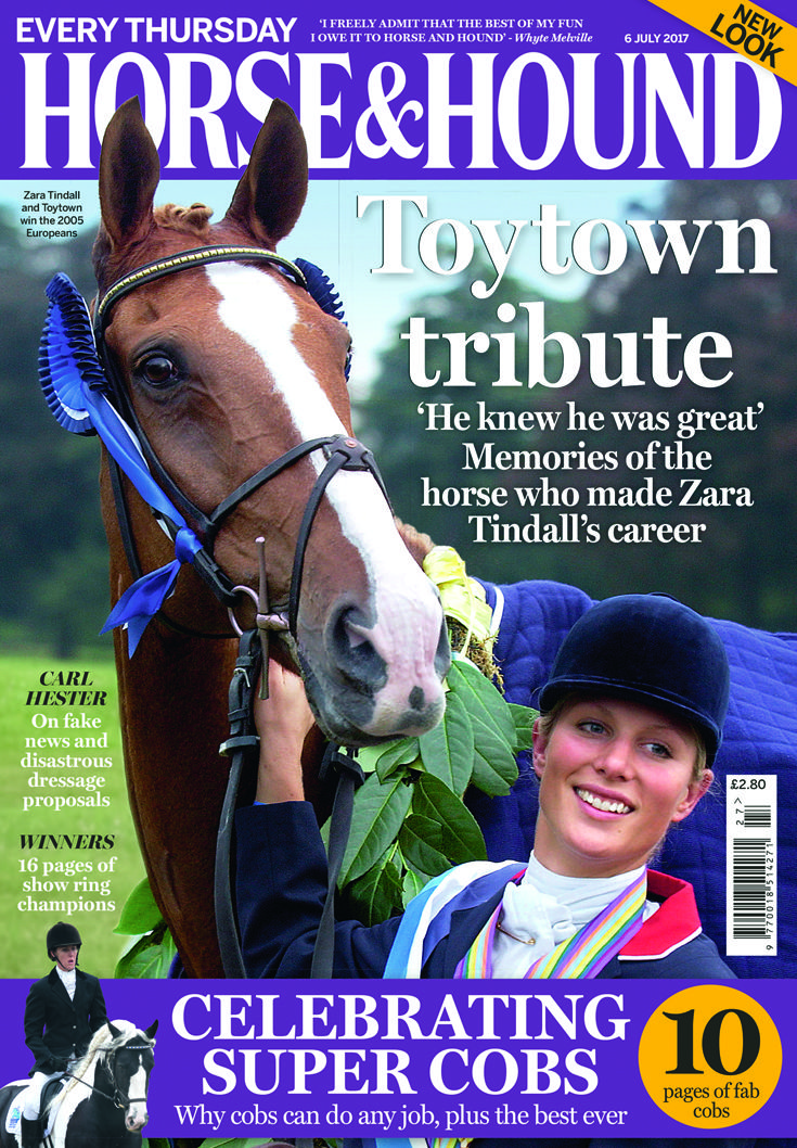 Don't miss the 6 July issue of Horse & Hound, on sale now! Find out what's inside: http://www.horseandhound.co.uk/publication/horse-and-hound-magazine/horse-hound-6-july-2017