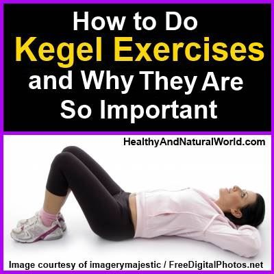 How to Do Kegel Exercises and why it's so beneficial for both men and women.