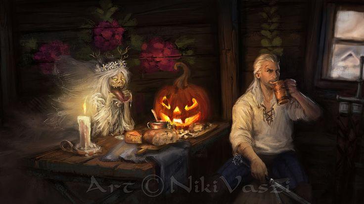 Halloween True Love by NikiVaszi.deviantart.com on @DeviantArt