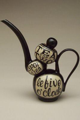 Turning Bull Pottery - London, Ontario | Pots - Teapots, Hand Painted, Handmade, Stoneware
