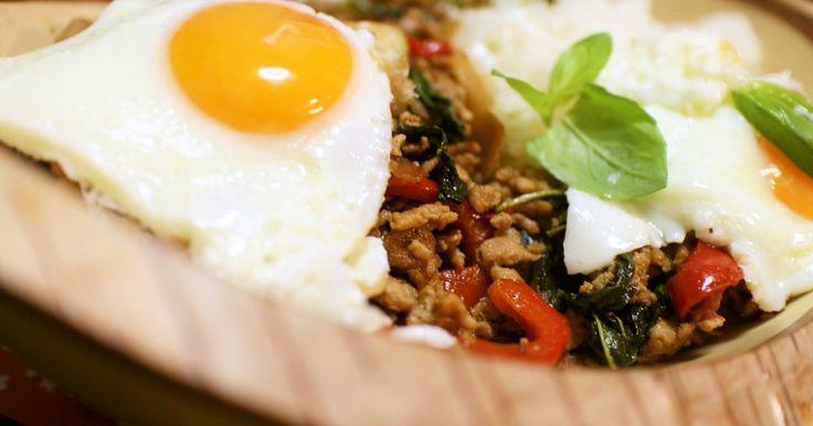 ガパオ★鶏挽肉のバジル炒めごはん by satorepi 【クックパッド】 簡単おいしいみんなのレシピが277万品