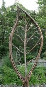 Leaf Shaped Trellis