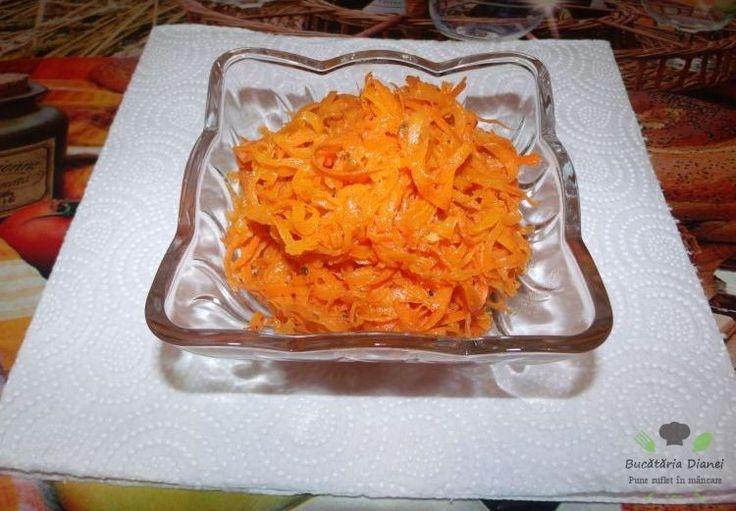 Salată cu morcov coreiană   #Coriandru #Morcov #Salată #Usturoi