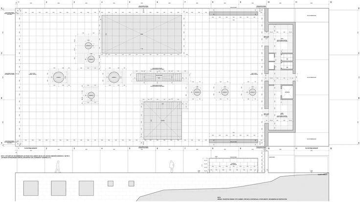 Buen grafismo y con información completa - Planta Casa del Infinito