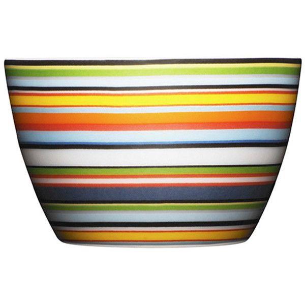 Iittala Origo Snack Bowl - Orange (€19) ❤ liked on Polyvore featuring home, kitchen & dining, serveware, orange, iittala, orange bowl, freezer bowl and porcelain bowl
