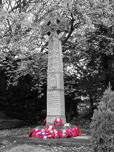 Warminster War Memorial  As the title suggests, this is the War Memorial situated in Warminster, Wiltshire, a garrison town on the edge of Salisbury Plain.