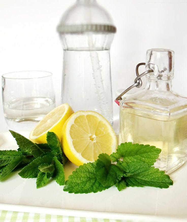 Citromhab: Mentás citromfűszörp