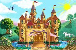 Los príncipes y las princesas vivían en castillos....