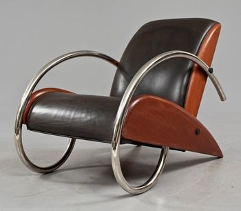 Art Deco Armchairs - Foter  At my age it would be impossible to get out of this chair, not so bad.