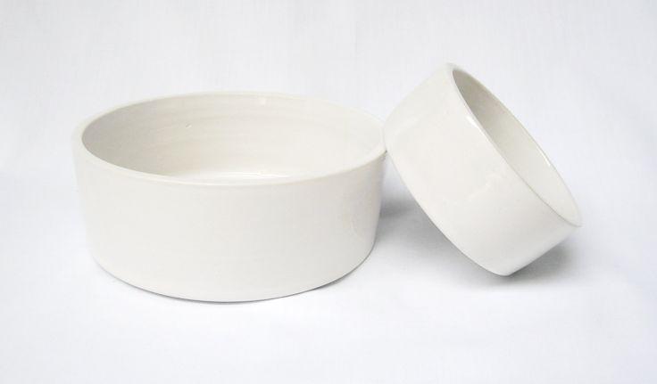 Nesting Bowls Porcelain Dishes Bowls Ceramic Ware by VanillaStone, $30.00