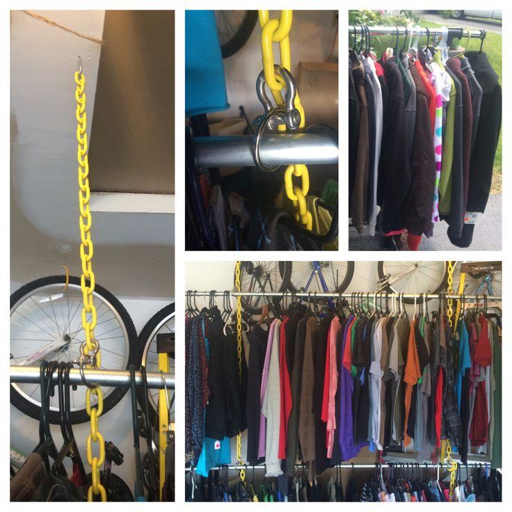 Best 25+ Hang Clothes Garage Sale Ideas On Pinterest