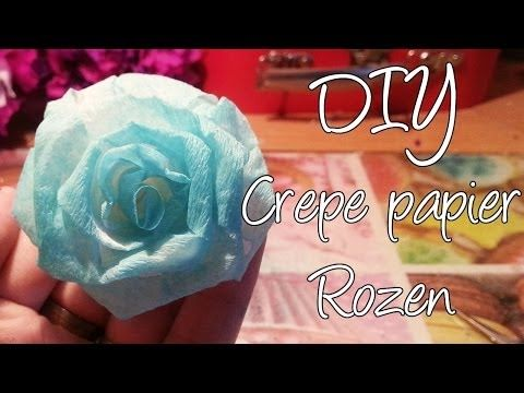 AllesVoor - crêpebloemen - YouTube
