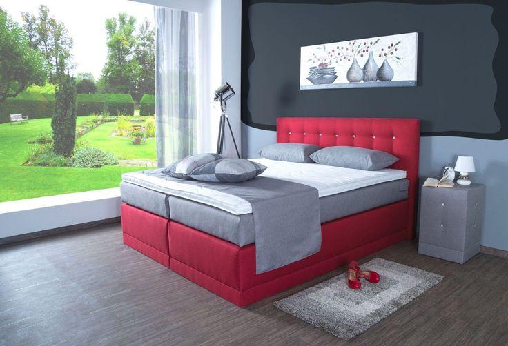 boxspringbett helena. Black Bedroom Furniture Sets. Home Design Ideas