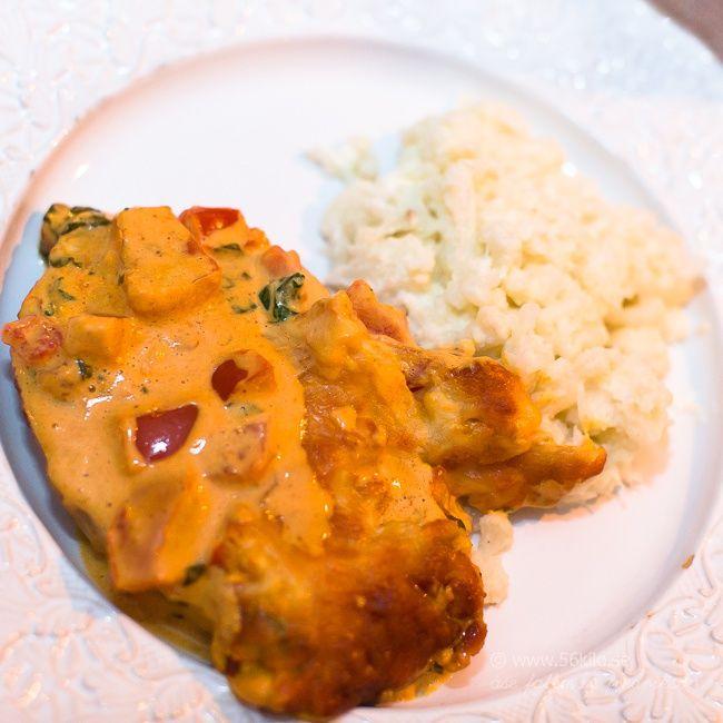 Kassler i Chili & Currysås