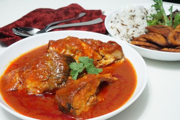 Nigerian Catfish Stew