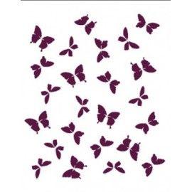 Fondo mariposas en movimiento. A4