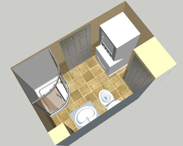 Bathroom and laundry plans bath laundry 3d design bath for Plan your bathroom 3d