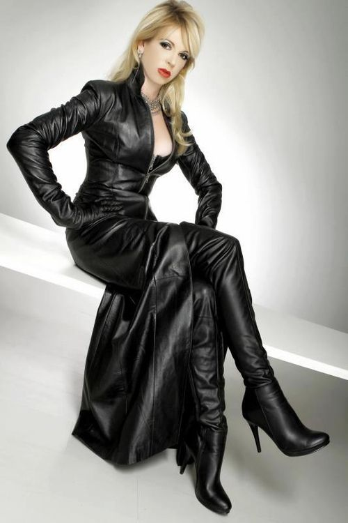 Style bdsm dresses pinterest leather style and for Leather wedding dresses black