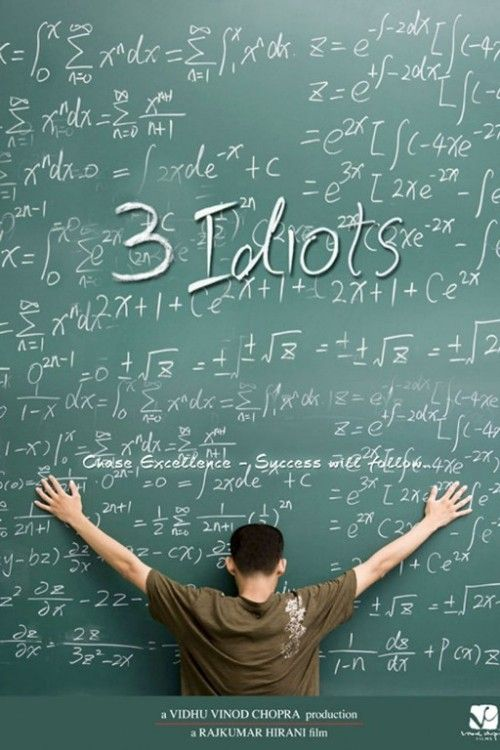 3 Idiots 30 Best Examples of Bollywood Movie Posters