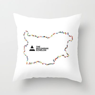 The Bulgarian Echelon (Colour) Throw Pillow by Vanya Vasileva - $20.00 http://society6.com/vanyavasileva/