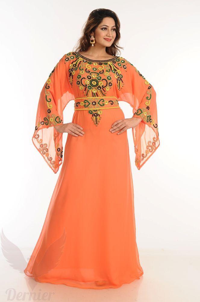 Women Kaftan Abaya Arabian Wedding MOROCCAN Jilbab Royal Maxi Dress  K28 in  2019  88e60bcabdb