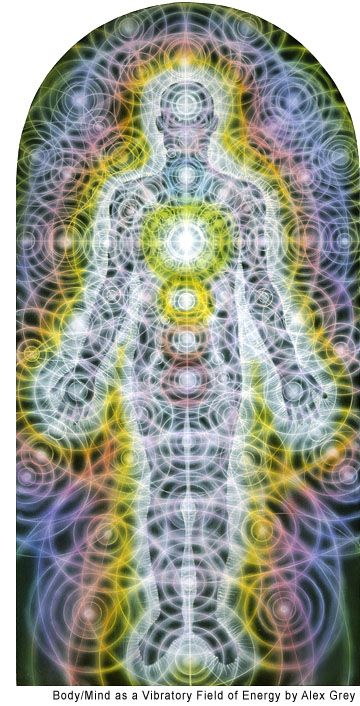 Alex Grey - vibratory energy field