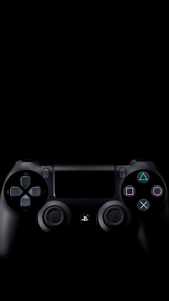 PlayStation 4 on Black