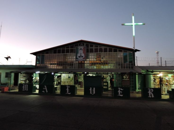 Culiacan – kaplica Jesusa Malverde. fot. Paweł Trefler