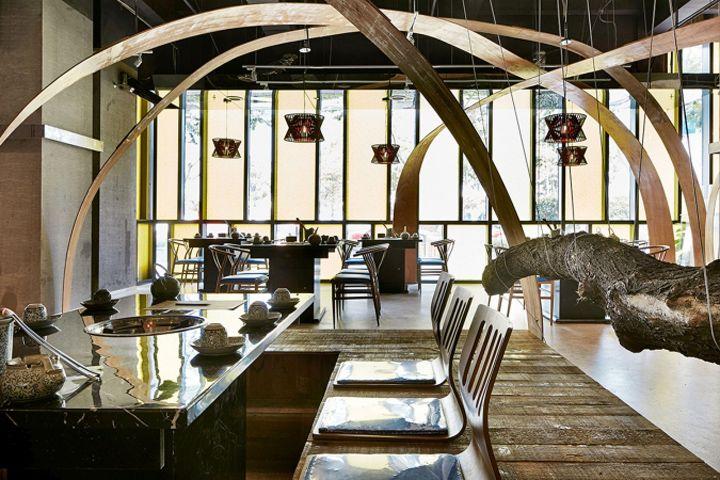 Ресторан China Lane Hot Pot: дух Древнего Китая в интерьере в Нанкине