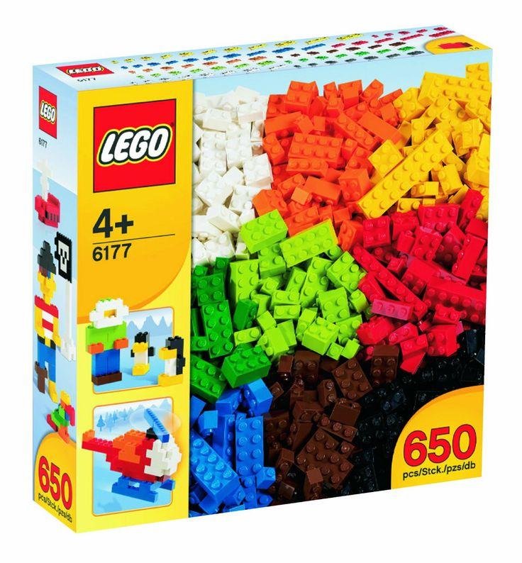 LEGO 6177 Basic Bricks Deluxe: Amazon.co.uk: Toys & Games