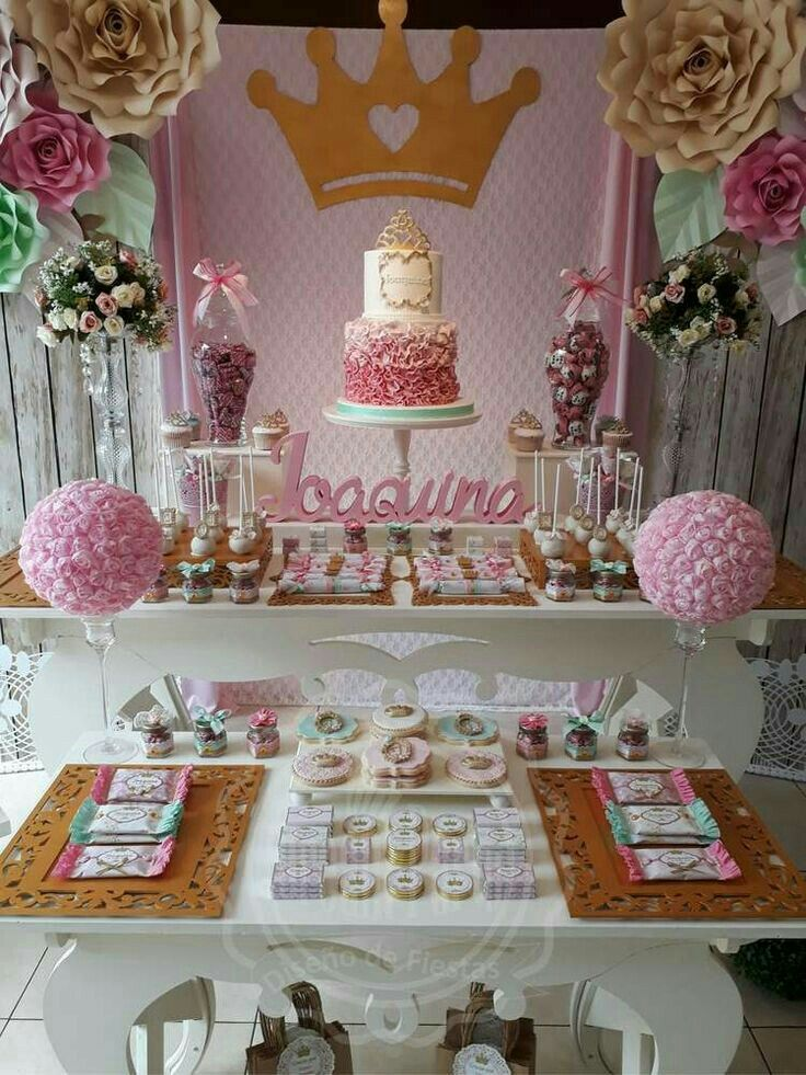 Bby shower Decoracion de fiesta princesa Fiesta de