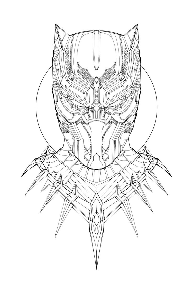 legionofpotatoes:  I have absolutely no time to be doing this but I'm going at it anyway. Did I ever mention how obsessed I am with the gorgeous design elements on T'Challa's ceremonial armor? Colors tomorrow. Hopefully.